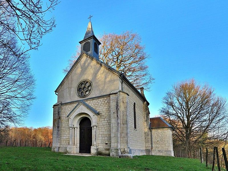 La Chapelle Saint-Maximin - Par JGS25 [CC BY-SA 4.0  (https://creativecommons.org/licenses/by-sa/4.0)], de Wikimedia Commons - 2018