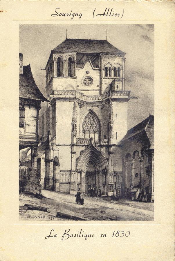 Litho de l'ancien Bourbonnais